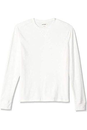 Goodthreads Amazon Brand - Men's Long-sleeve Slub Thermal Crewneck T-Shirt, (ivory)