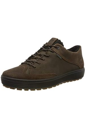 ECCO Men's Soft 7 Tred M Low-Top Sneakers, (Coffee/Coffee 51869)