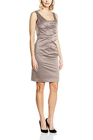 Vera Mont Women's 0046/4804 Dress, -Braun (Smoky Taupe 7322)