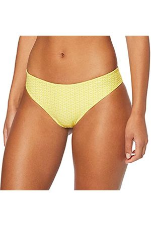 LOVABLE Reversible White And Yellow Bikini Top Donna