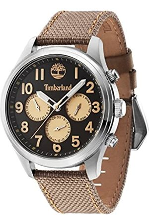 Timberland Men's Quartz Watch with Dial Chronograph Display and Nylon Strap 14477JS/61