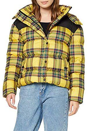 Urban Classics Women's Ladies AOP 2-Tone Puffer Jacket