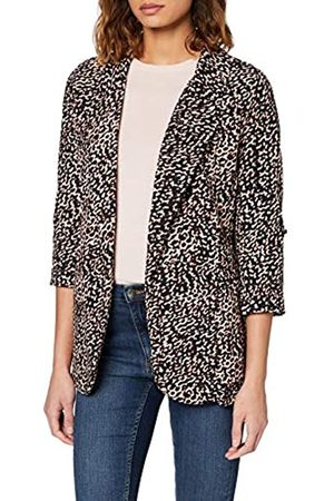 New Look Women's T Mark Animal Blazer Suit Jacket