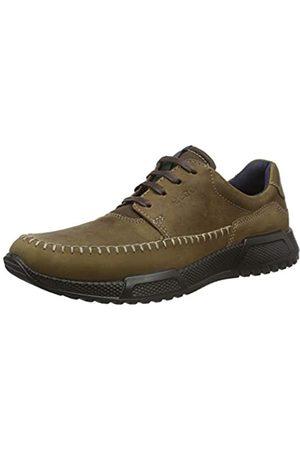 Ecco Men's Luca Low-Top Sneakers, (Camel/Marine)