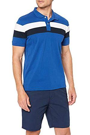 Tommy Hilfiger Men's Chest Stripe Regular Polo Shirt, ( Quartz/Multi 904)