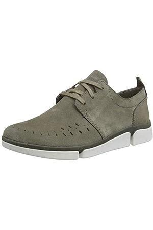 Clarks Men's Tri Verve Boss Low-Top Sneakers, (Sage Combi Sage Combi)