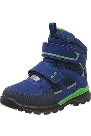 Ecco Boys' Urban Hiker Classic Boots, (Poseidon/Poseidon 51646)