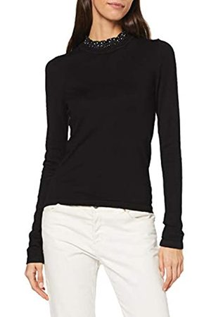 Warehouse Women's Woven Frill Collar Jumper Sweater