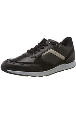 LLOYD Men's Bari Low-Top Sneakers, (Schwarz/Anthrazit/ 1)