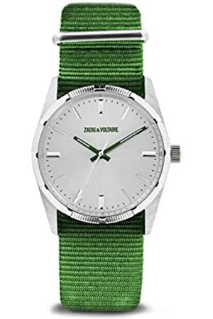 Zadig & Voltaire Unisex Watch Analogue Display and Nylon Strap ZVF212