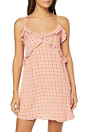Women's Secret Summer Va Ruffle Dress Rose