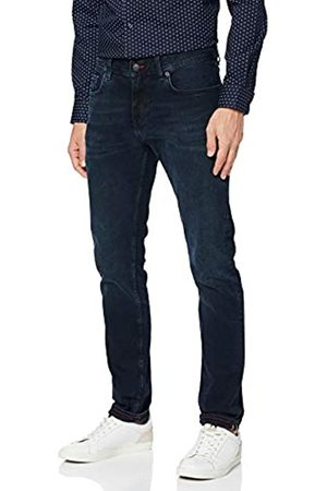 Tommy Hilfiger Men's Extra Slim Layton STR Burke Straight Jeans