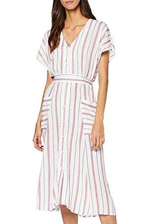 Springfield Women's 4.2.pc. Midi Rayas DressGold (Dorado 97)8 (Manufacturer Size: 36)