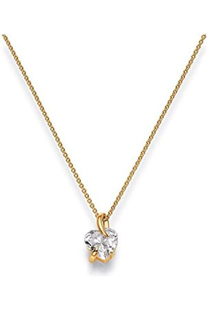 Viventy Women's Pendant Silver -Plated Rhodium-Plated White Zirconia - 772102