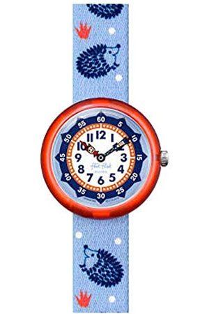 Flik Flak Unisex_Adult Analogue Swiss Quartz Watch with Textile Strap FBNP148