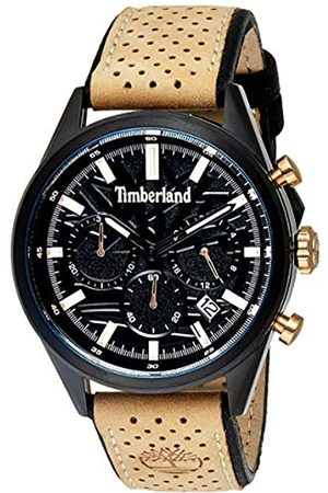 Timberland Mens Chronograph Quartz Watch with Leather Strap TBL.15476JSB/02