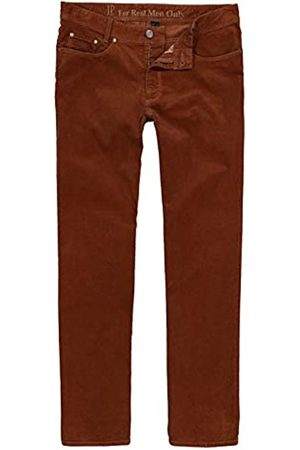 JP 1880 Men's Big & Tall Corduroy Trousers Rust 54 723478 64-54