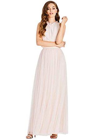 Little Mistress Women's Samantha Maxi Dress with Frill