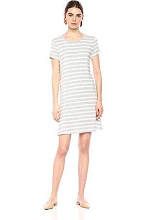 Amazon Essentials Short-sleeve Scoopneck Swing Dress Casual