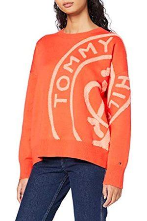 Tommy Hilfiger Women's Bobbee Stamp Logo SWTR Jumper
