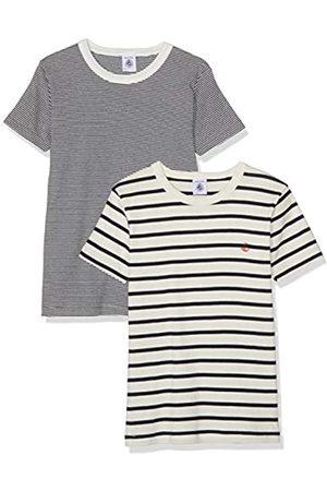 Petit Bateau Girls' 2 TS MC PG T-Shirt