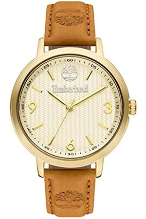 Timberland Womens Analogue Quartz Watch with Leather Strap TBL15643MYG.01