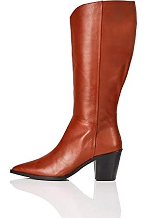 find. Amazon Brand - Knee High Pull On Leather Western Boots, Picante)