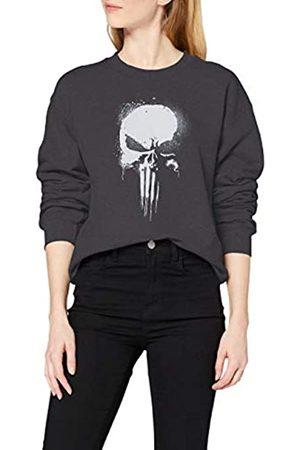 Marvel Women's Knights Paintspray Skull Sweatshirt