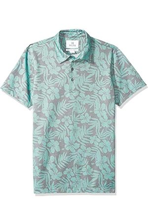 28 Palms Relaxed-Fit Hawaiian Performance Pique Polo Shirt Floral