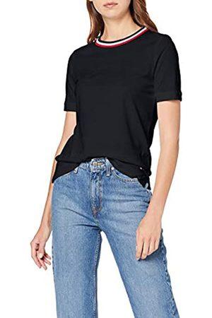 Tommy Hilfiger Women's Celine C-nk Top Ss Sports Knitwear