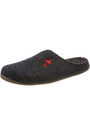 Living Kitzbühel Unisex Adults' Pantoffel Kitzbühel Gams mit Fußbett Open Back Slippers, (Anthra 0600)