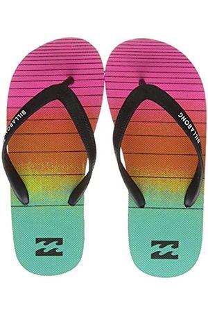 Billabong Boys' Tides Print Flip Flops, (Neon 5628)