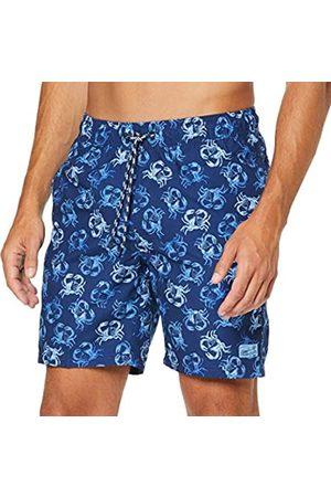 Izod Men's All Over Crab Swim Trunk Short