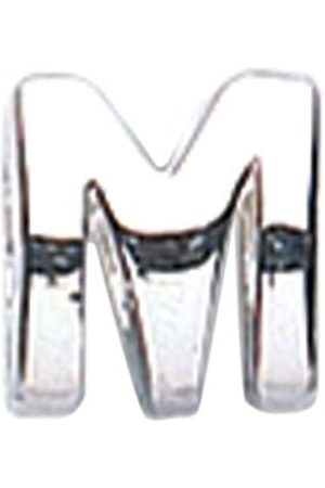 Jo Sterling Initial Bead Letter M