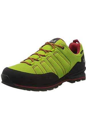 Jack Wolfskin Men's Scrambler Lite Texapore Low M Rise Hiking Shoes, (Lime/ 4176)