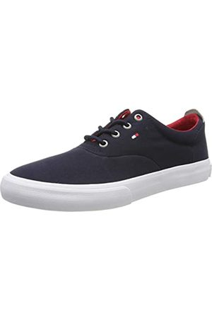 Tommy Hilfiger Men's Core Thick Textile Low-Top Sneakers, (Midnight 403)