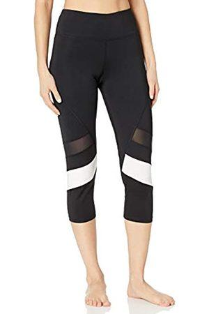 AURIQUE Amazon Brand - Women's BAL1016 Capri Sports Leggings