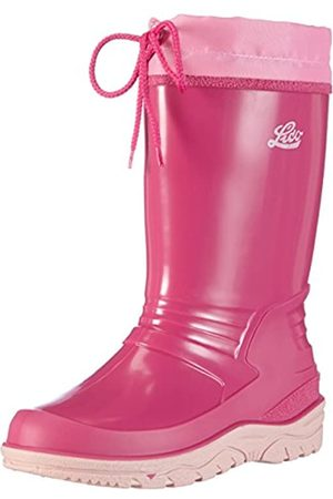 LICO Girls' Punto Wellington Boots, ( /Rosa /Rosa)