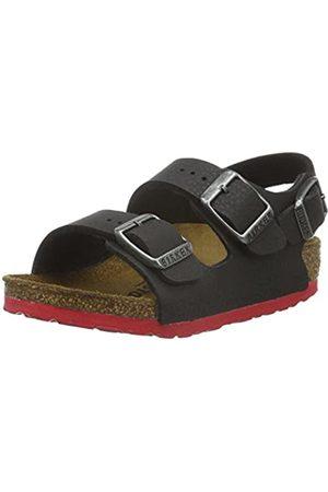 Birkenstock Milano Birko-Flor, Unisex Kids' Open Toe Sandals, - (Desert Soil )