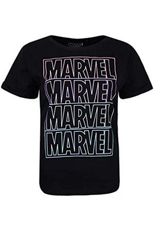 Marvel Women's LINE Logo T-Shirt
