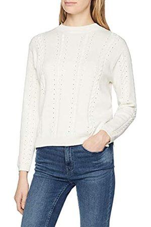 Yargıcı Womens 9YKTR2052X Round Collar Long Sleeve Jumper - Off- - Small