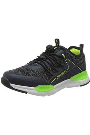 Dockers Unisex Kids' 44sd650-637660 Low-Top Sneakers, (Navy 660)