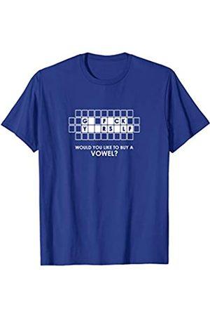 Ann Arbor T-shirt Co. Go F*Ck Y**Rs*Lf - Buy A Vowel | Funny Rude Sarcasm T-shirt