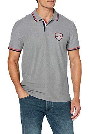 Izod Men's Shield Patch Performance Polo Shirt