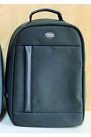 Ocean´s Wave Unisex Adults'Backpack (Negro Negro) Mediana-grande