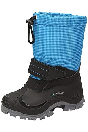 Spirale Unisex Kids' Sunny Snow Boots, Turquoise (Azzurro 01500335)