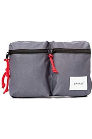 Spiral Military Shoulder Bag - Charcoal Sport Waist Pack, 18 cm