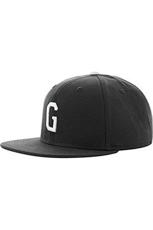 MSTRDS Letter Snapback G Baseball Cap, -Schwarz (G 1178,4622)