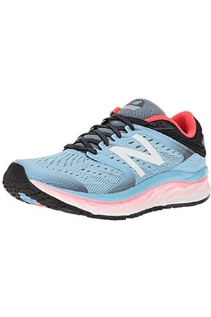 New Balance Women's 1080v8 Running Shoes (Clear Sky/Vivid Coral/Black Clear Sky/Vivid Coral/Black)