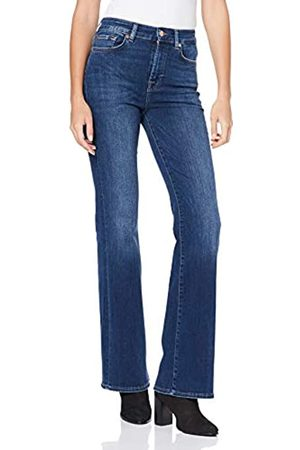 7 For All Mankind Women's Lisha Slim Illusion Old Song Bootcut Jeans